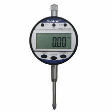 Shahe 0 254mm 001mm Electronic Digital Digimatic Dial Indicator Gauge Yellow