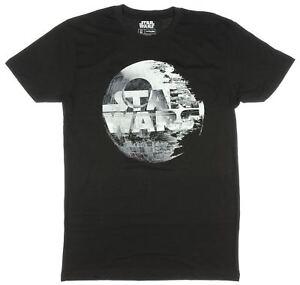 Star Wars Ep VII: The Force Awakens Death Star Logo T-Shirt