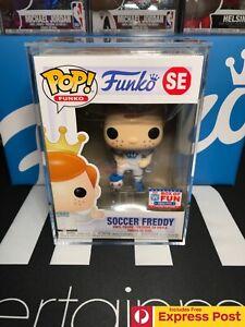 SOCCER FREDDY FUNKO FUNKON 2021 BOX OF FUN POP VINYL FIGURE 2000PCS + HARD STACK
