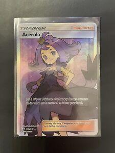 Acerola-142-147-ULTRA-RARE-Full-Art-Pokemon-Sun-amp-Moon-Burning-Shadows-NM-MINT