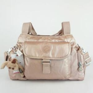 8be32d7ea2 Image is loading KIPLING-FELIX-L-Handbag-Shoulder-CrossBody-Bag-Rose-