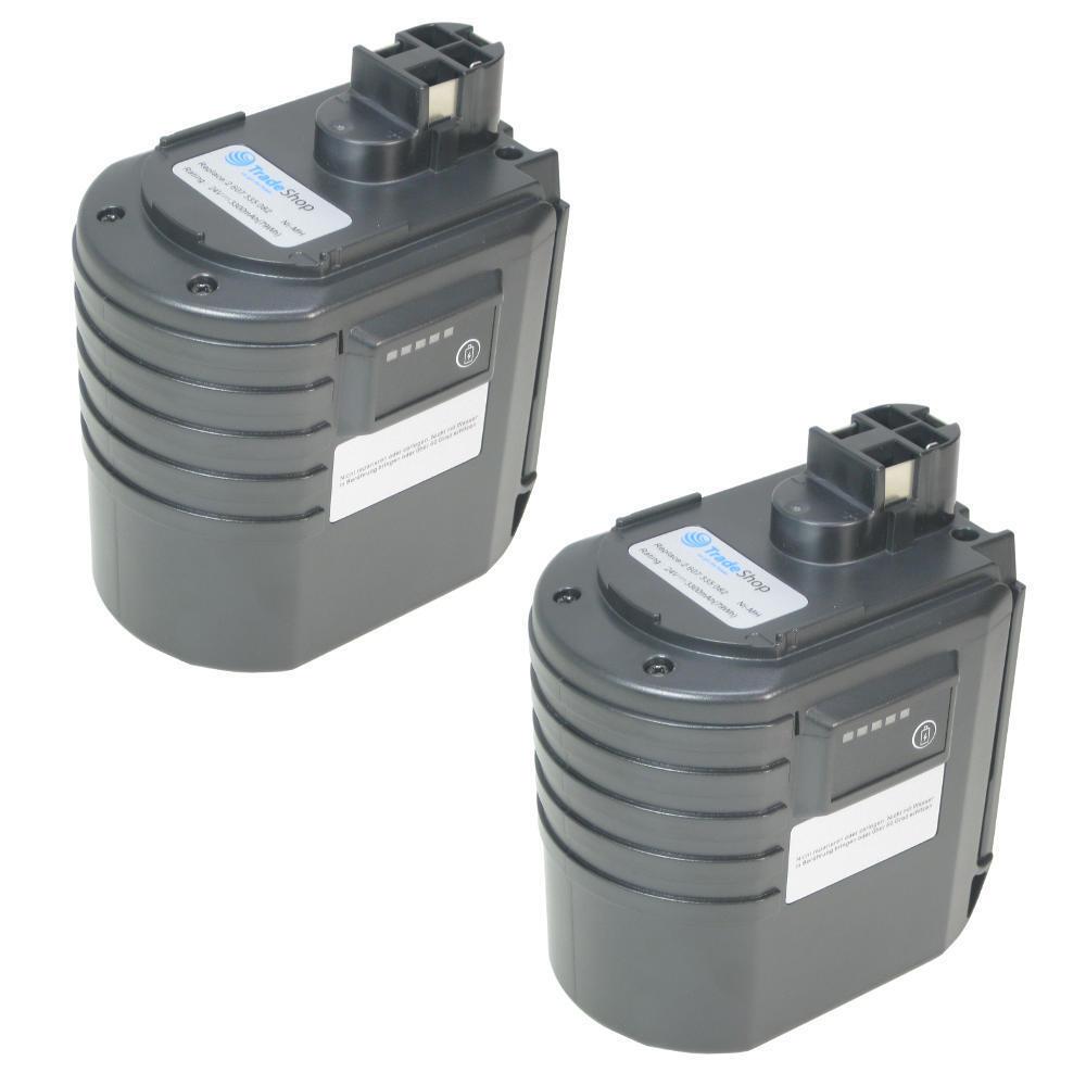 2x Hochleistungs Ni-MH Akku 3300mAh 24V für Bosch 11225VSR 0611225703 GBH24 VFR