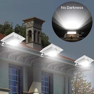 Focos Solares Exterior Led De Jardin Patio Sensor De