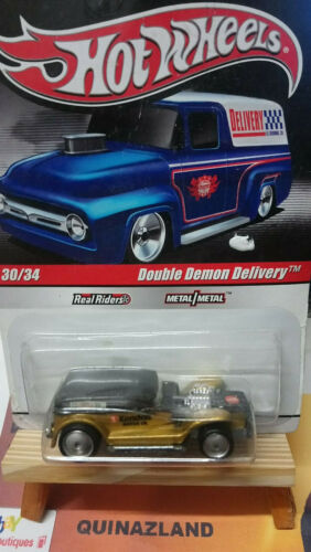 CP10 Hot Wheels Delivery Double Demon Delivery