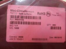 Lot X 250 Mini Circuits Ros 3470 1 Vco 3350 3470 Mhz 5v