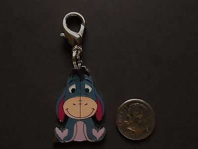 New Eeyore Enamel Charm Zipper Pull Backpack Clip Cartoons TV Movie Characters