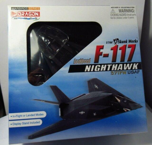 Dragon F-117A Stealth Fighter 1//144 Plastic Model 37th TFW USAF Nighthawk 51051