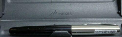 Pak.Ersatzpatronen F Parker  Füllfederhalter schwarz   mit Konverter