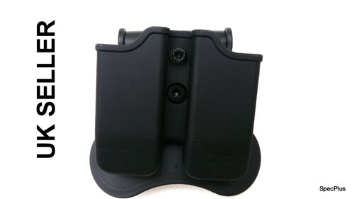 Walther P88 PPQ M1 /& M2 P99 Il sistema IMI stile DOUBLE MAG FONDINA POLIMERO TAURUS pt605