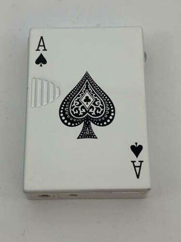 Nice Lighter play cards poker Portable Refillable Handy Cigarette Windproof