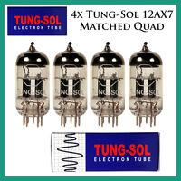 4x Tung-sol 12ax7 / Ecc83   Matched Quad / Quartet / Four Tubes   Reissue