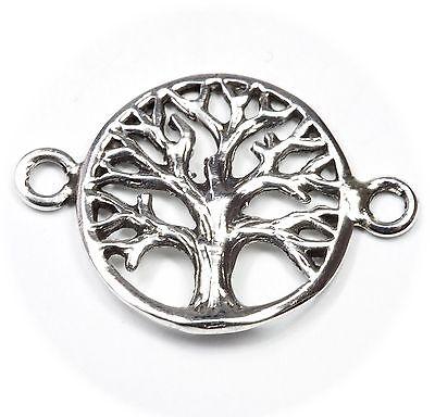 Gewissenhaft Neu 925 Silber AnhÄnger Weltenbaum Baum Des Lebens Lebensbaum KettenanhÄnger