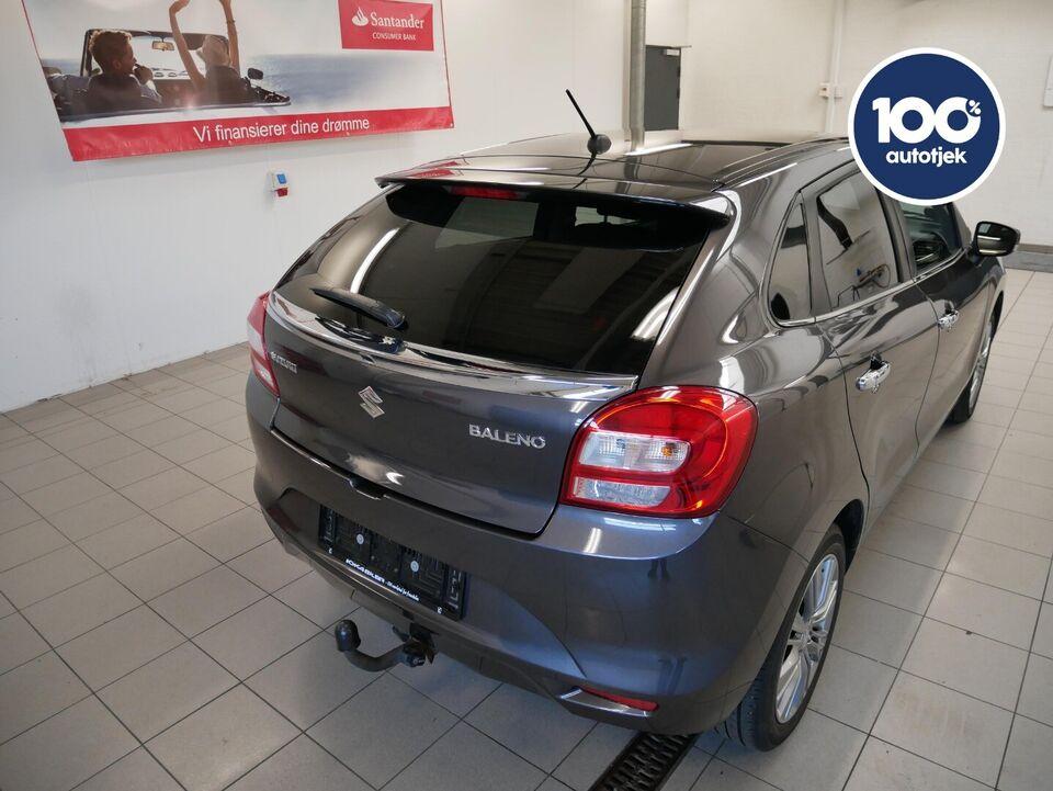 Suzuki Baleno 1,2 Dualjet Exclusive Benzin modelår 2016 km