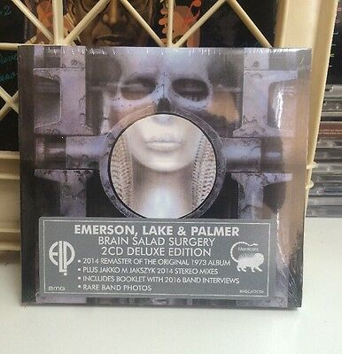 Emerson, Lake & Palmer - Brain Salad Surgery 2 CD Deluxe Edition New Sealed