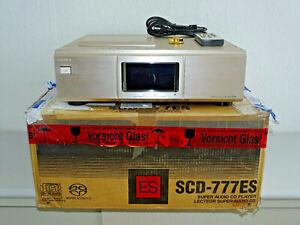 Sony SCD-777ES High-End SACD-Player Gold in OVP, Laser erneuert, 2J. Garantie
