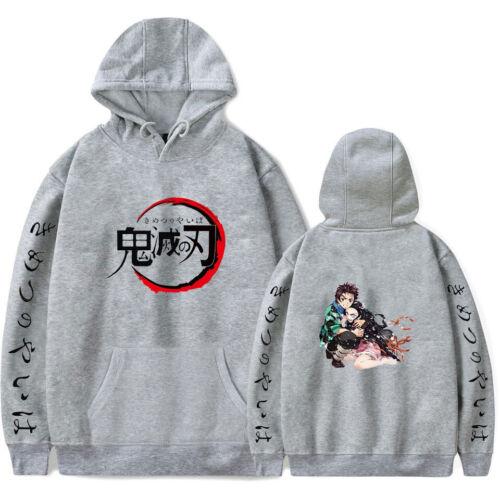 Demon Slayer Kimetsu no Yaiba Anime Hoodie Pullover Sweater Sweatshirt Jumper
