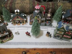 4-FT-Christmas-Village-Display-Platform-J43-For-Lemax-Dept56-Dickens-More