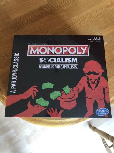Monopoly Socialism Winning Is For Capitalists Board Game RECALLED SHIPS NOW!!