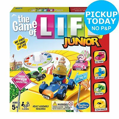 Game Of Life Junior Board Game Hasbro Gaming 2+ Players 5+ Years