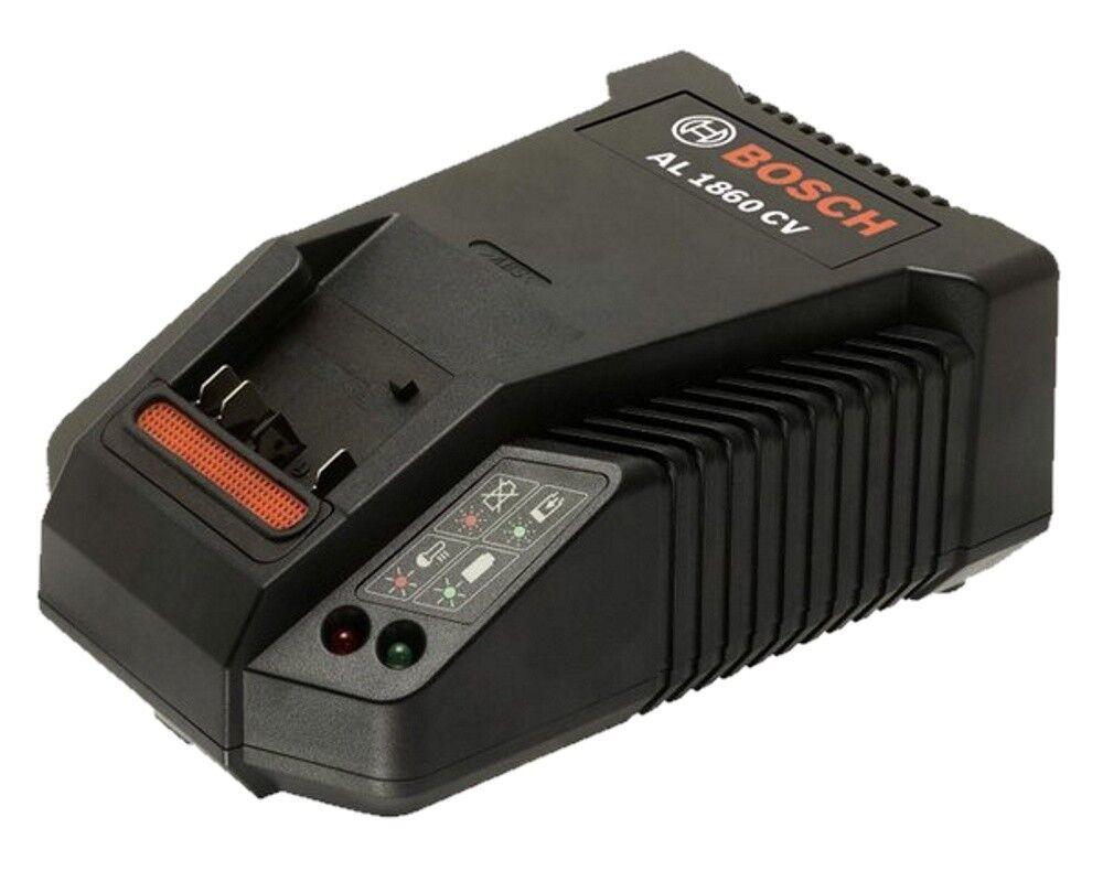 Bosch Professional Ladegerät Schnellladegerät AL 1860 CV - für 14,4 + 18V Akkus
