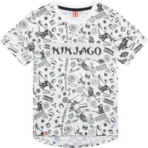Lego Ninjago film original garçons à manches courtes en coton Tops T-shirts 3-10 ans