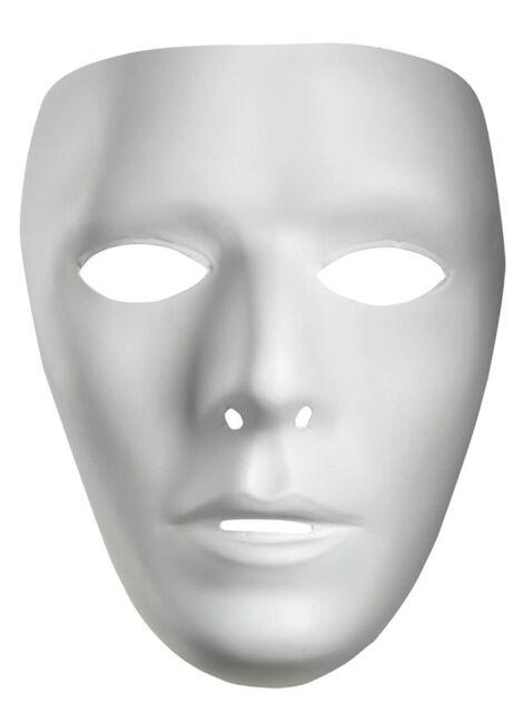 Halloween Mask White Full Face JabbaWockeeZ Dance Crew alloy Costume White Best