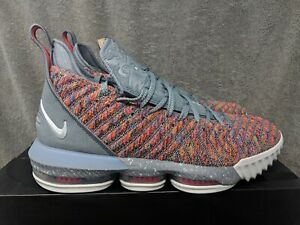 reputable site 92f3c 818a7 Image is loading Nike-Lebron-16-XVI-Size-11-Multi-Color-