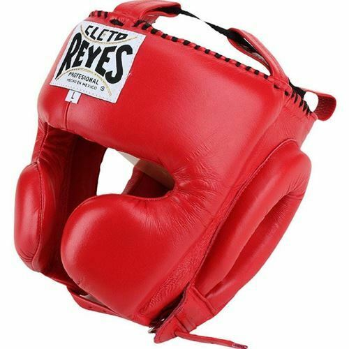 Cleto  Reyes Cheek Predection Headgear - Red  manufacturers direct supply
