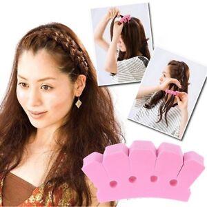 French-Hair-Braider-Sponge-Wonder-Frisurenhilfe-Twister-Haardreher-Topsy-Tail