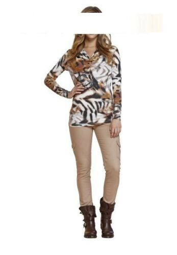 top trendy APART Cargojeans Cargo Stretch Jeans Hose NEU camel hellbraun