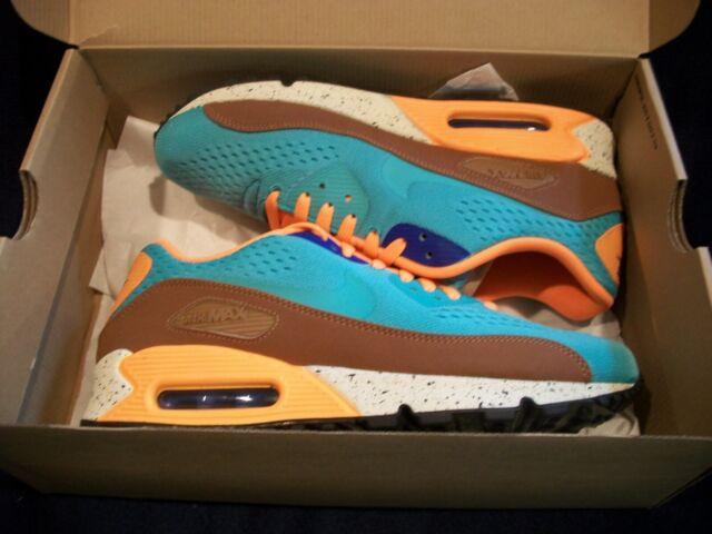 air max 90 blue orange brown
