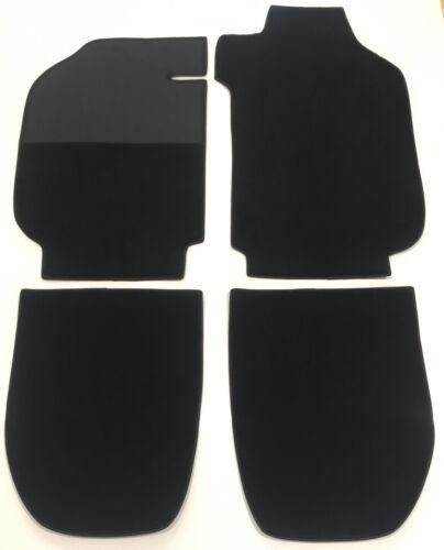 Black recplacement carpet set for Porsche 911 coupe 2.7 G-Modell LHD