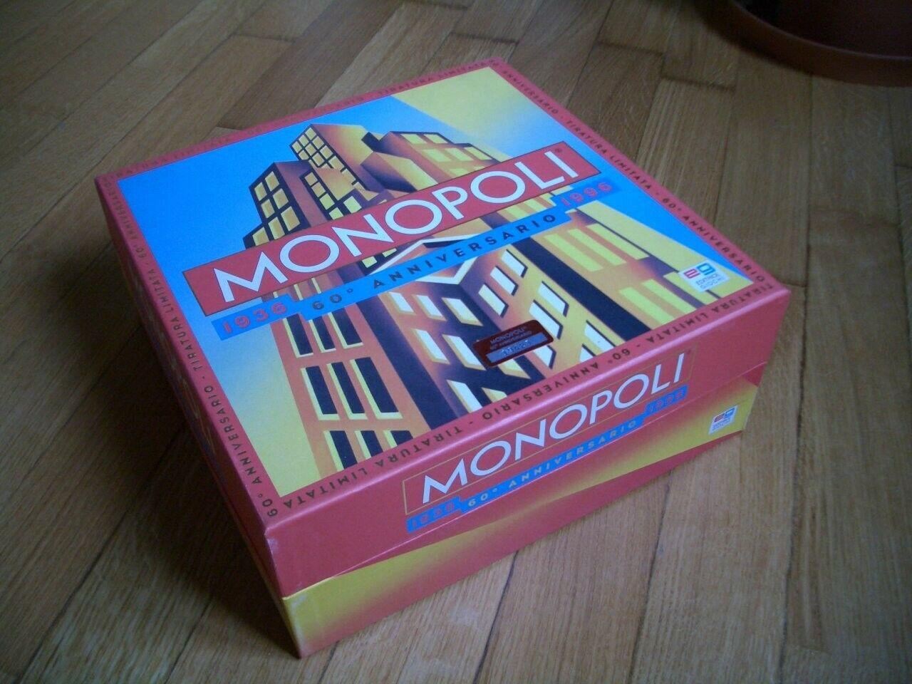 Gioco da tavola Monopoli 60°anniversario