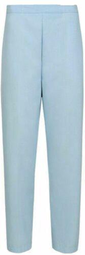 Femme Semi-élastique stretch taille pantalons de travail Pantalons Poches Pantalon UK 8-26