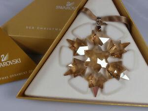 SWAROVSKI SCS CHRISTMAS ORNAMENT 2010 GOLD EDITION BOX ...