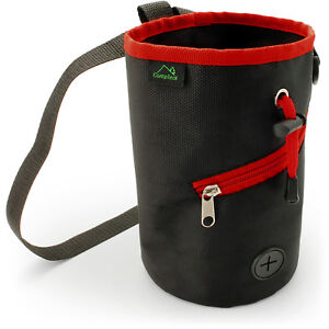 Image Is Loading Chalk Bag For Rock Climbing Bouldering Gymnastics Weightlifting