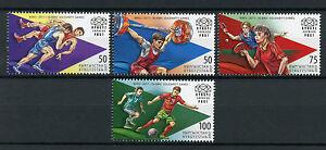 Kyrgyzstan KEP 2017 MNH IV Islamic Solidarity Games 4v Set Football Stamps