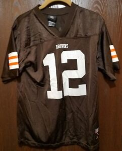 35459c58da2 Brown Colt McCoy Cleveland Browns  12 Football Jersey Youth Large 14 ...