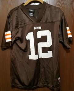 220a11a3 Details about Brown Colt McCoy Cleveland Browns #12 Football Jersey Youth  Large 14-16