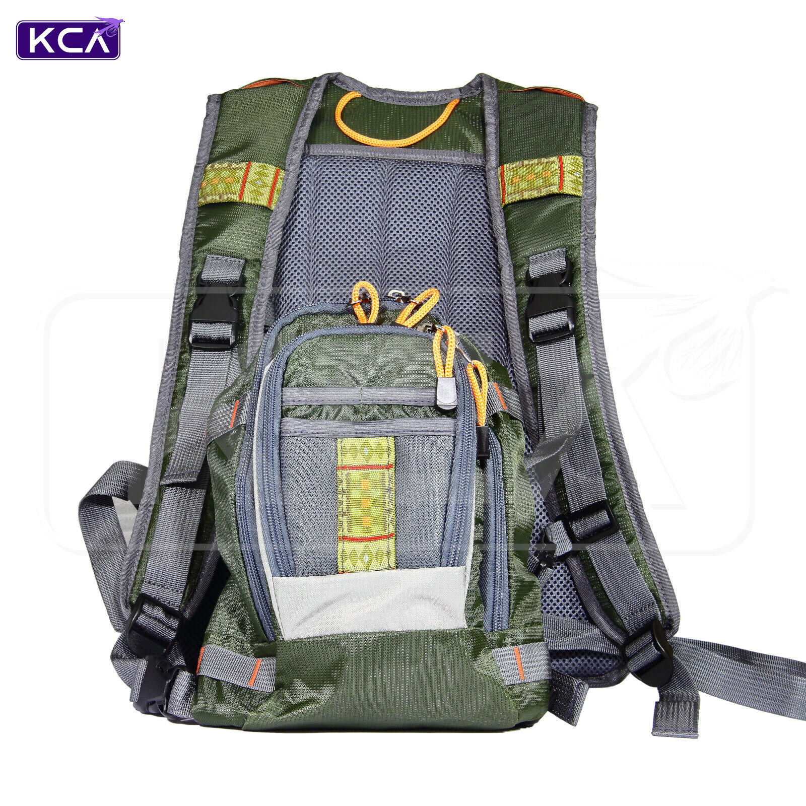 Multi-function Sack Carryall Fishing Tackle Bag Waterproof Waist Shoulder Strap
