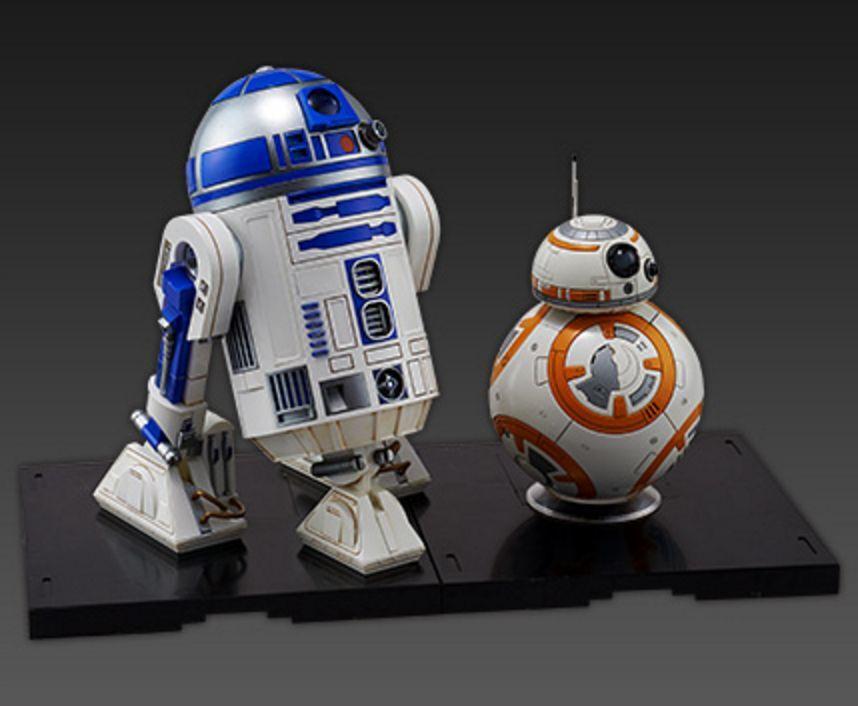 BB-8 & R2-D2 - Star Wars 1 12 Force Awaken by Bandai