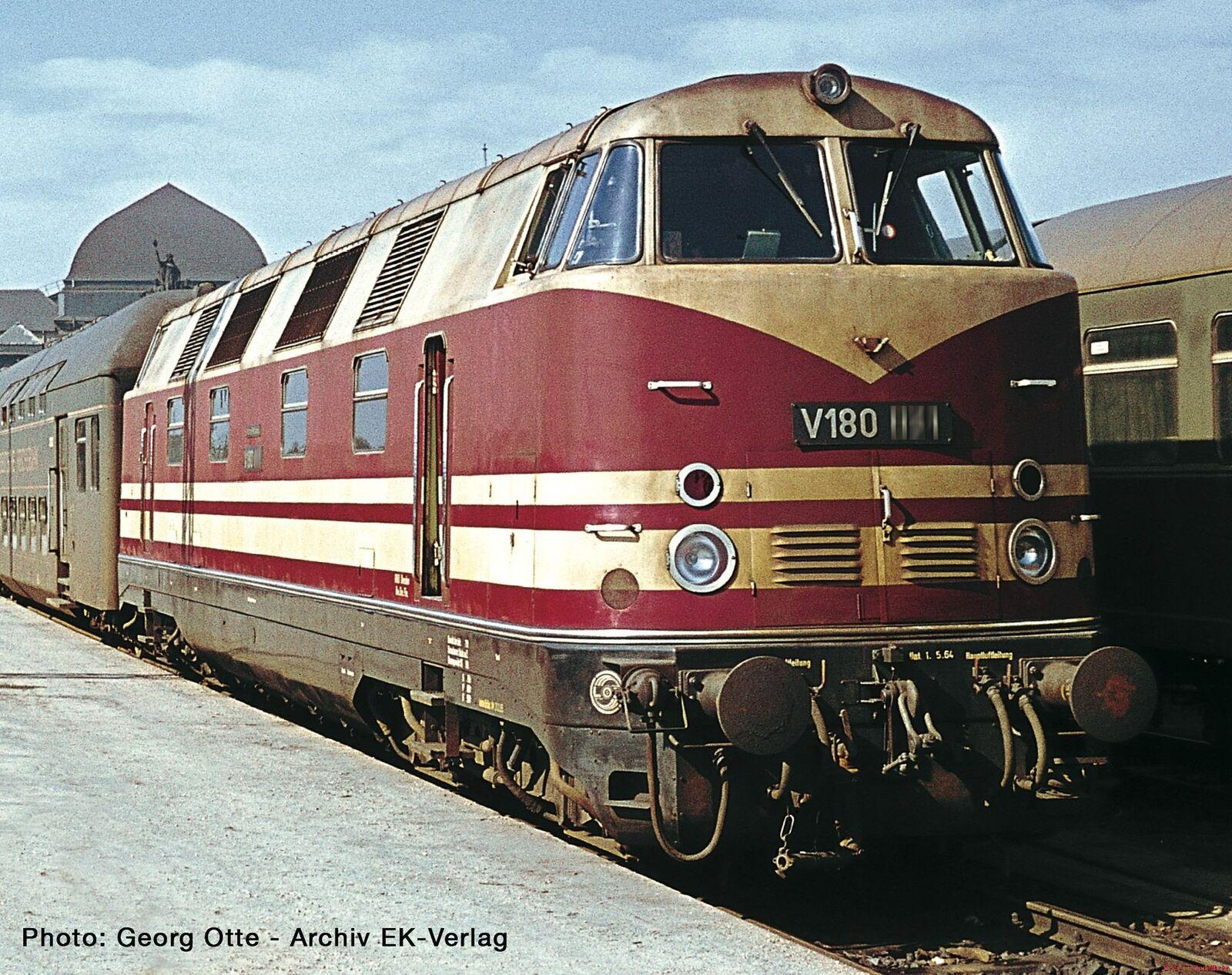 H0 Diesellokomotive V180 DR Ep.III Roco 73890 Neu