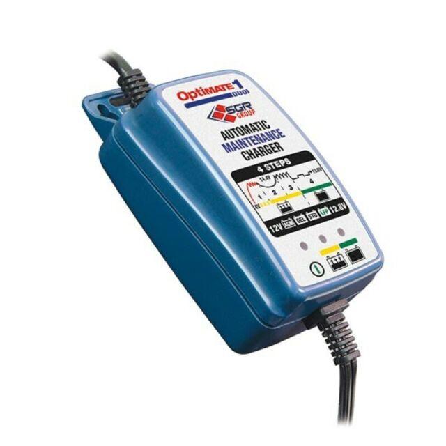 Caricabatteria Autodiagnostico Mantenitore di carica 12V-0,6A Optimate1 Duo moto