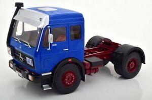 MB Mercedes Benz NG 1632 - 1973 - blue - Road Kings 1:18