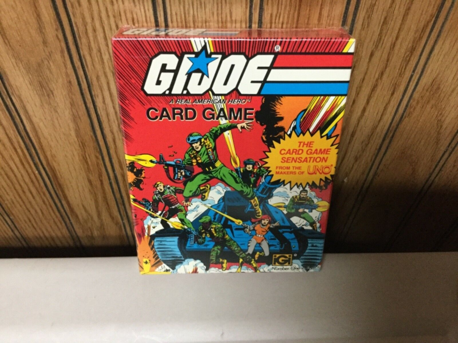 1982 G.I JOE card game SEALEDfrom the maker of UNO MINT