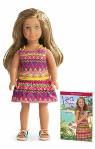 American Girl Doll Lea Clark GOTY Girl of the Year 2016 and Book NEW!