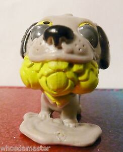 The Ugglys Series 1 #55 WORRIED WHIPPET Yellow Mint OOP