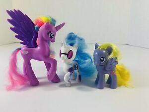 "My Little Pony ""PRINCESS STERLING"" DJ PON LILY BLOSSOM G4 Brushables"