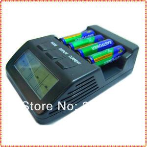 Carica bateria intelligente con CPU x AA/AAA NiCd e NiMh (no alimentatore 3V/4A) - Italia - Carica bateria intelligente con CPU x AA/AAA NiCd e NiMh (no alimentatore 3V/4A) - Italia