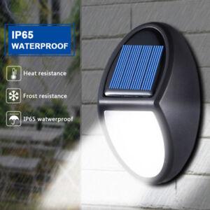 LED-Solare-Power-Lampada-Parete-Esterno-Giardino-Impermeabile-Luce